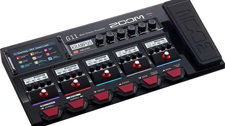 ZOOM ズーム / G11 Multi-Effects Processor【マルチエフェクター】
