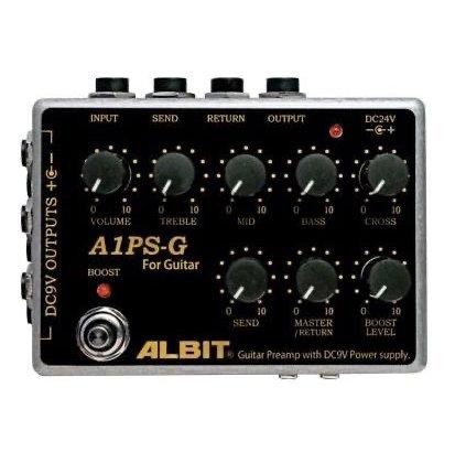 ALBIT アルビット / A1PS-G【ギター用プリアンプ】