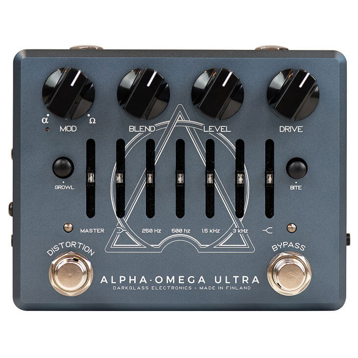 Darkglass Electronics ダークグラスエレクトロニクス / Alpha Omega Ultra v2 with Aux In【ベース用プリアンプ】