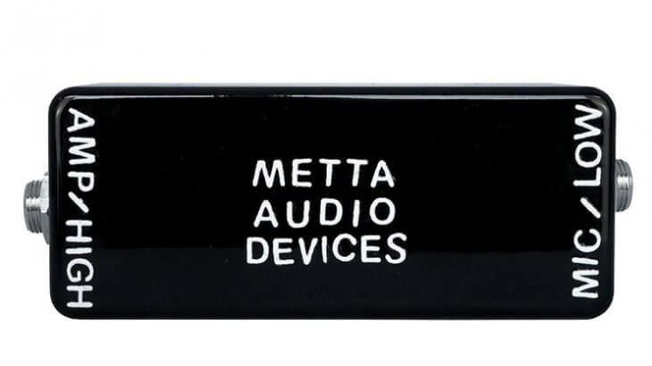 METTA AUDIO DEVICES メッタオーディオデバイセズ / MICROPHONE TO AMP【マイクロフォントゥアンプ】