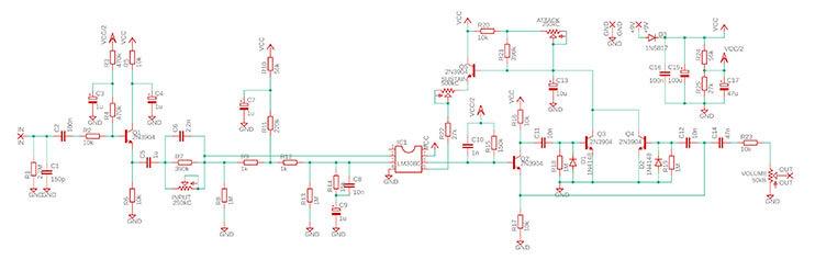 kgr harmony ケージーアールハーモニー / Passione Compressor (4Knob コンプレッサー) 【自作エフェクターキット】