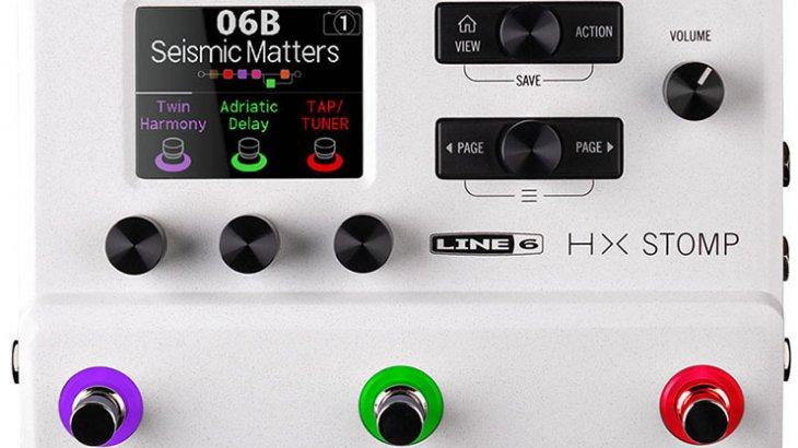 LINE6 ラインシックス / HX Stomp White【ギタープロセッサー】