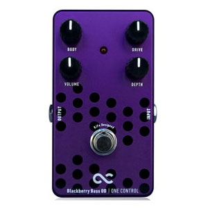 One Control ワンコントロール / Blackberry Bass OD【ベース用オーバードライブ】