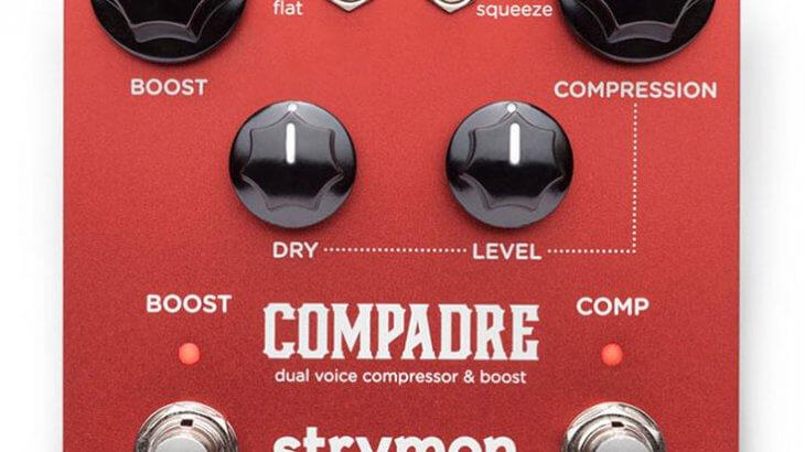 strymon ストライモン / COMPADRE [dual voice compressor & boost]【コンプレッサー】