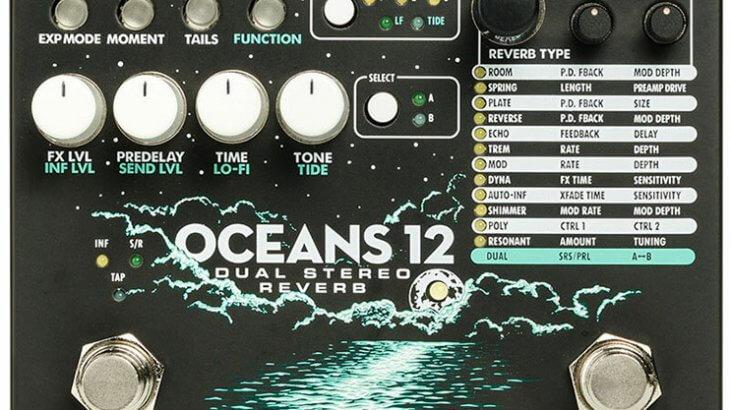 Electro Harmonix エレクトロハーモニクス /  OCEANS12 [Dual Stereo Reverb]【リバーブ】