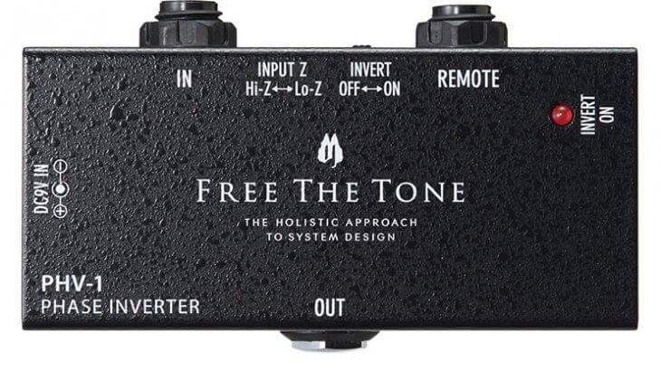 FREE THE TONE フリーザトーン / PHV-1 PHASE INVERTER【位相反転機器】【フェイズインバーター】