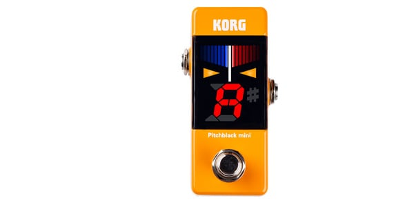 KORG コルグ / Pitchblack mini [PB-MINI] OR オレンジ【チューナー】
