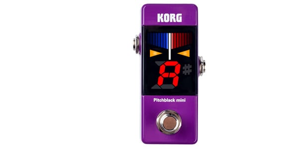 KORG コルグ / Pitchblack mini [PB-MINI] PU パープル【チューナー】