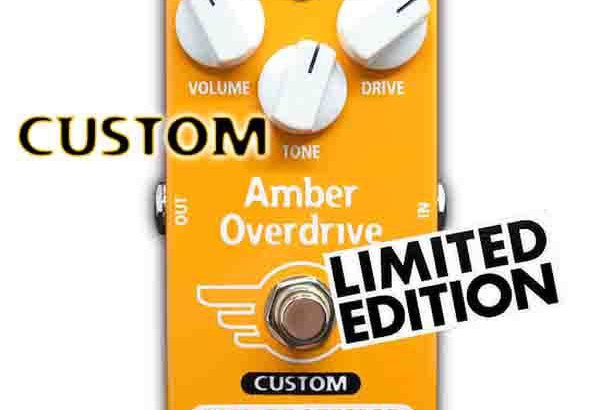 MAD PROFESSOR マッドプロフェッサー / Amber Overdrive FAC For Bass MOD 【ベース用オーバードライブ】