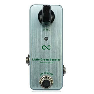 One Control ワンコントロール / Little Green Booster【ブースター】