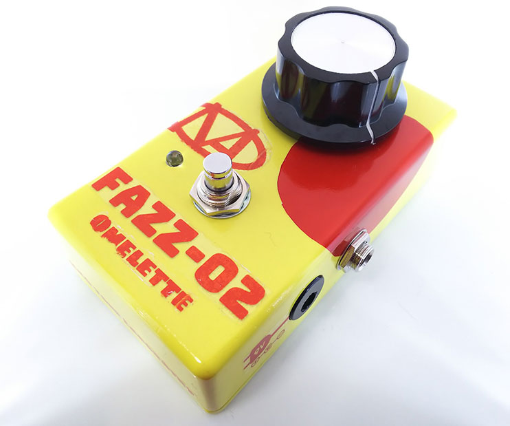 "NAO / Tone Laboratory  FAZZ-02 ""Omelette""【ファズ】【投稿自作エフェクター】"