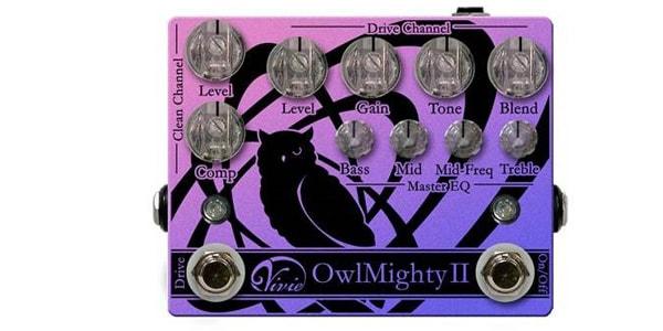 Vivie ビビー / OwlMighty II【ベース用プリアンプ】