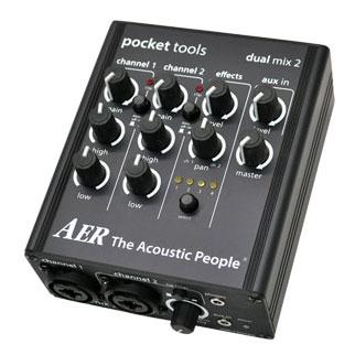 AER エーイーアール / Dual Mix 2【アコースティックギター用プリアンプ/DI】