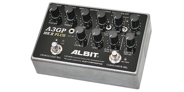 ALBIT アルビット / A3GP MARK II PLUS【プリアンプ】