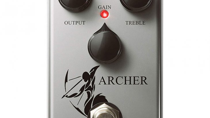 J.Rockett Audio Designs ジェイロケットオーディオデザイン / The Jeff Archer【オーバードライブ】