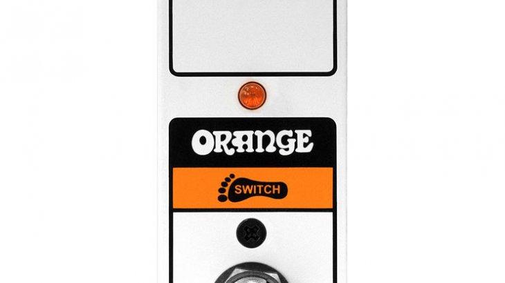 Orange オレンジ / FS1 mini ラッチタイプ【フットスイッチ】