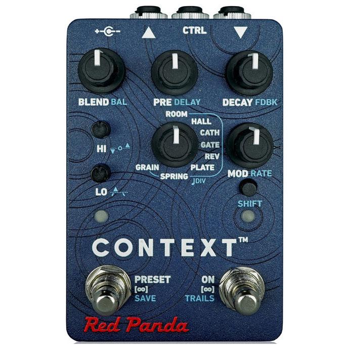 Red Panda レッドパンダ / Context V2【リバーブ】【ディレイ】