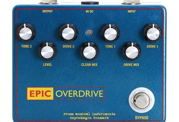 REUSS ロイス /  Epic Overdrive【トランスペアレント系オーバードライブ】