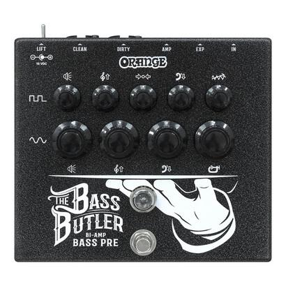 Orange オレンジ / Bass Butler【ベース用プリアンプ】