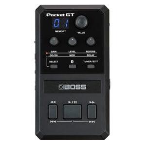 BOSS ボス / POCKET-GT -POCKET EFFECTS PROCESSOR-【アンプ・エフェクトプロセッサー】