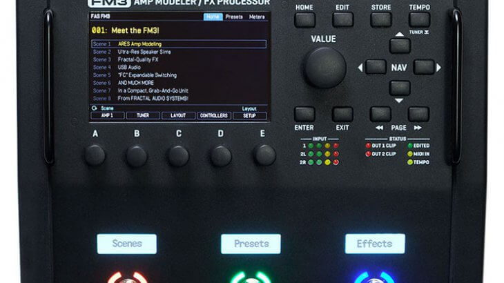 Fractal Audio Systems フラクタルオーディオシステムズ / FM3【ギター用マルチエフェクター】