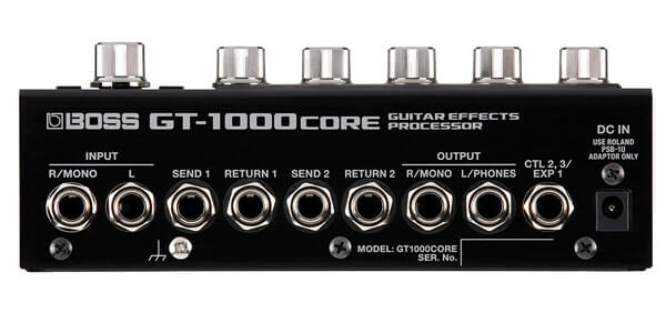BOSS ボス / GT1000CORE Guitar Effects Processor【ギター用マルチエフェクター】