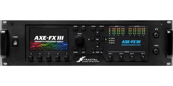 Fractal Audio Systems フラクタルオーディオシステムズ / Axe-Fx III MARK II【ギター用プリアンプ/マルチエフェクトプロセッサー】