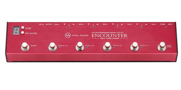 VITAL AUDIO バイタルオーディオ / ENCOUNTER VAPS-4【プログラマブルループスイッチャー】