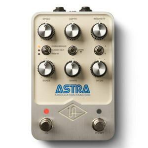 Universal Audio ユニヴァーサル オーディオ / Astra Modulation Machine【ステレオモジュレーションペダル】【UAFX】
