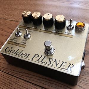 Y.K.Workshop   / Golden PILSNER【ディストーション】【投稿自作エフェクター】