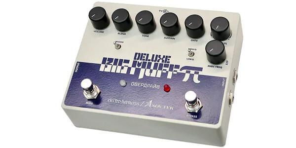 ELECTRO HARMONIX エレクトロハーモニックス / Sovtek Deluxe Big Muff Pi【ビッグマフ】【ファズ】【ディストーション】