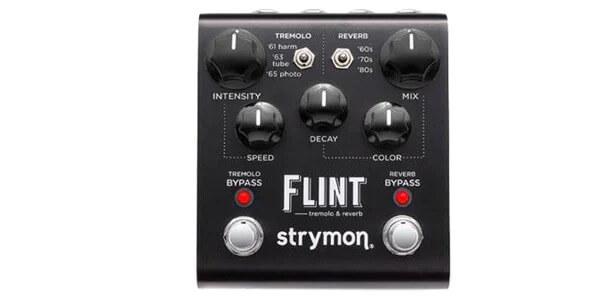 STRYMON ストライモン / FLINT Black Knob Edition【リバーブ】【トレモロ】
