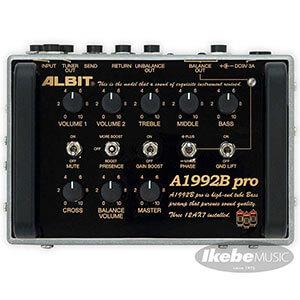 ALBIT アルビット / A1992B pro Custom 【イケシブOPEN記念特別限定モデル】【ベース用プリアンプ】