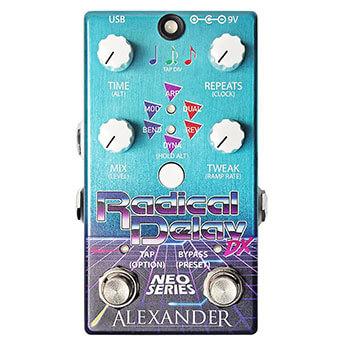 Alexander Pedals アレキサンダーペダルズ / Radical Delay DX【ディレイ】