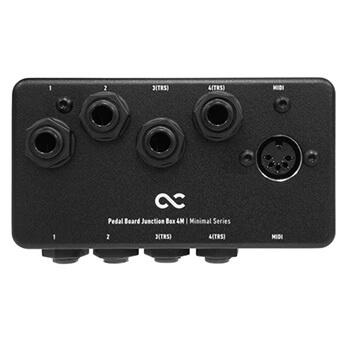 One Control ワンコントロール / Minimal Series Pedal Board Junction Box 4M【ジャンクションボックス】