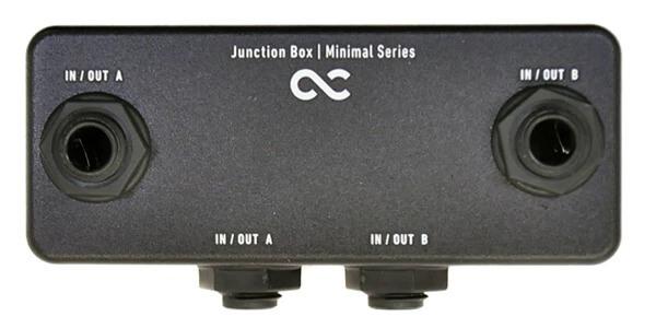 One Control ワンコントロール / Minimal Series Pedal Board Junction Box【ジャンクションボックス】