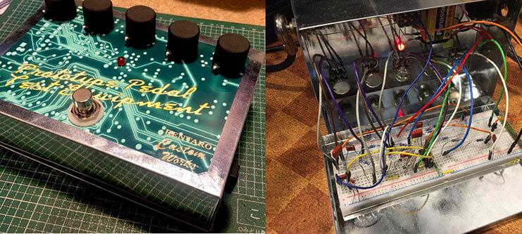 れんたろ  / Prototype pedal test equipment【試作検証用ペダル】【投稿自作エフェクター】