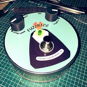 れんたろ  / FUZZ RICE / Rentaro custom works【ファズ】【投稿自作エフェクター】