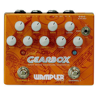 Wampler Pedals ワンプラーペダル / Gearbox [Andy Wood Signature Overdrive]【オーバードライブ】