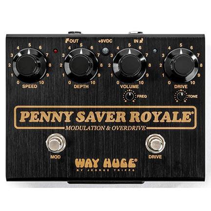WAY HUGE ウェイヒュージ / WHE901 PENNY SAVER ROYALE【オーバードライブ】【コーラス】