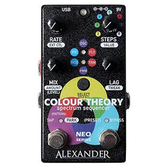 Alexander Pedals アレキサンダーペダルズ / Colour Theory【モジュレーション系マルチエフェクター】