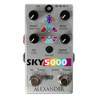 Alexander Pedals アレキサンダーペダルズ / Sky 5000【リヴァーブ&ディレイ】