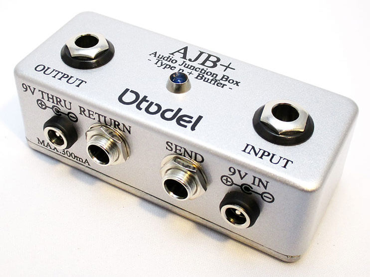 Otodel オトデル / AJB+ Audio Junction Box -Type n+Buffer-【ジャンクションボックス】