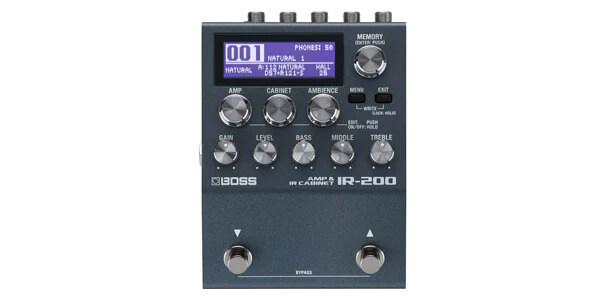 BOSS ボス / IR-200 AMP&CABINET PROCESSOR【アンプ・シミュレーター&IRローダー】