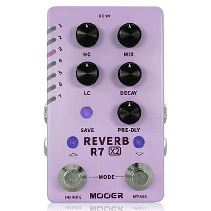MOOER ムーアー / R7 X2 REVERB【リバーブ】
